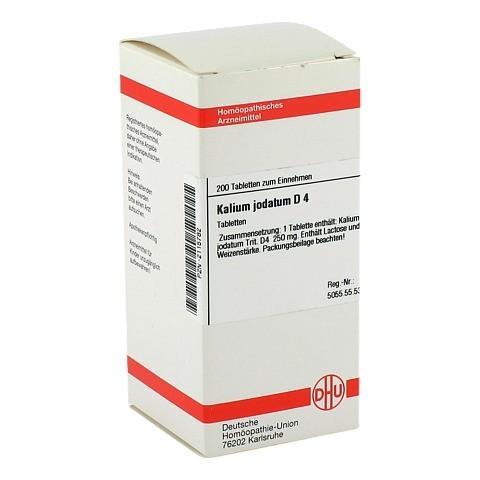 KALIUM JODATUM D 4 Tabletten 200 Stück N2