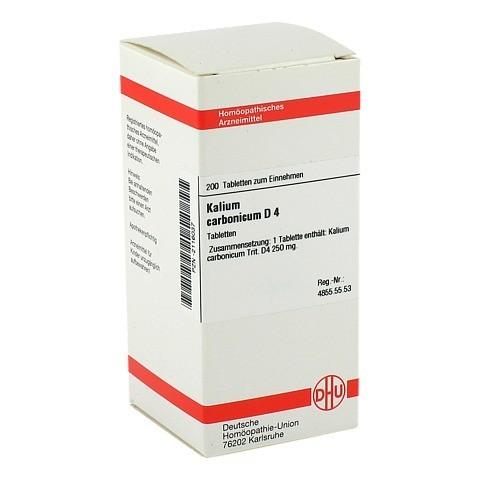 KALIUM CARBONICUM D 4 Tabletten 200 Stück N2