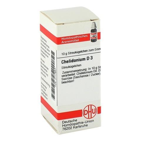 CHELIDONIUM D 3 Globuli 10 Gramm N1