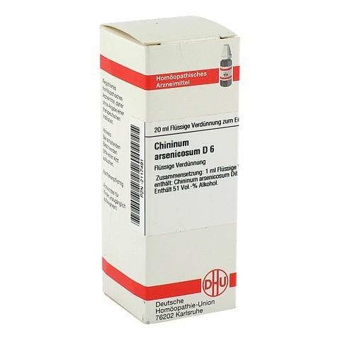CHININUM ARSENICOSUM D 6 Dilution 20 Milliliter N1