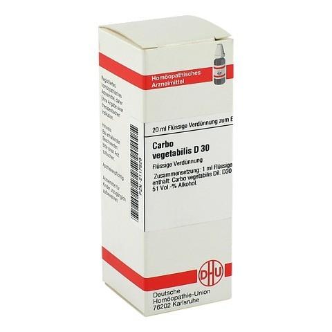 CARBO VEGETABILIS D 30 Dilution 20 Milliliter N1