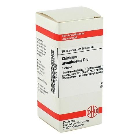 CHININUM ARSENICOSUM D 6 Tabletten 80 Stück N1