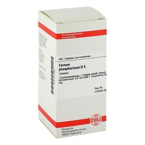 FERRUM PHOSPHORICUM D 3 Tabletten 200 Stück N2