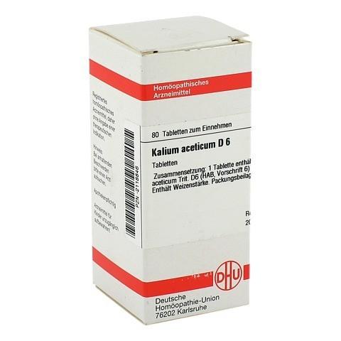 KALIUM ACETICUM D 6 Tabletten 80 Stück N1