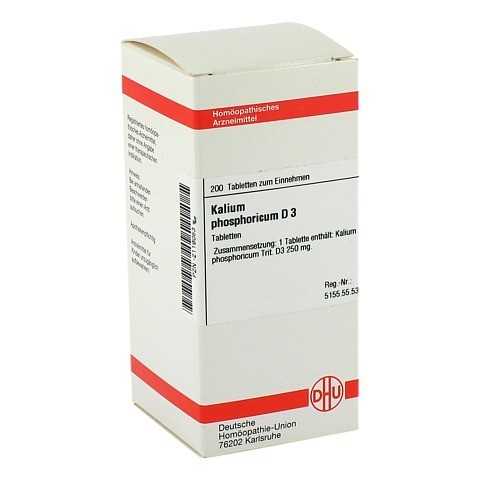 KALIUM PHOSPHORICUM D 3 Tabletten 200 Stück N2