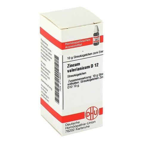 ZINCUM VALERIANICUM D 12 Globuli 10 Gramm N1