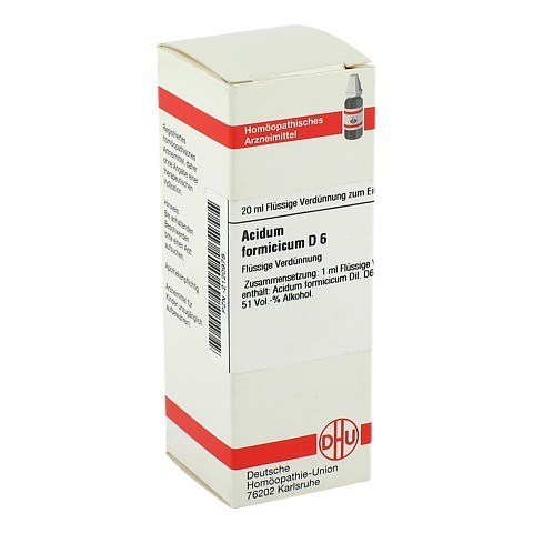 ACIDUM FORMICICUM D 6 Dilution 20 Milliliter N1