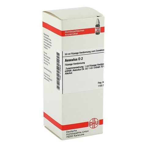 AESCULUS D 2 Dilution 50 Milliliter N1