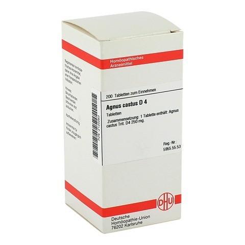 AGNUS CASTUS D 4 Tabletten 200 Stück N2