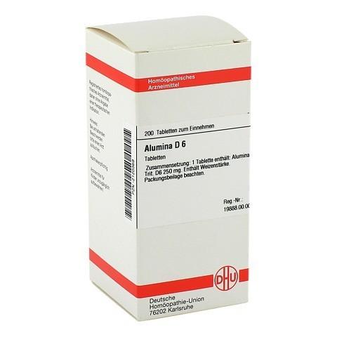 ALUMINA D 6 Tabletten 200 Stück N2
