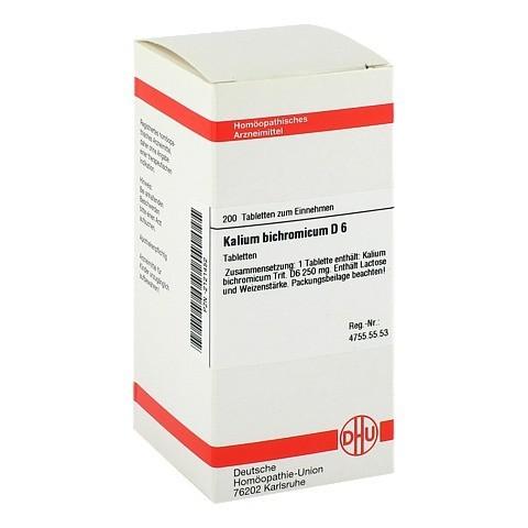 KALIUM BICHROMICUM D 6 Tabletten 200 Stück N2