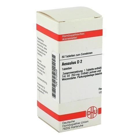 AESCULUS D 2 Tabletten 80 Stück N1