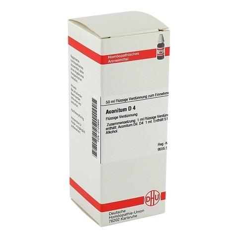 ACONITUM D 4 Dilution 50 Milliliter N1