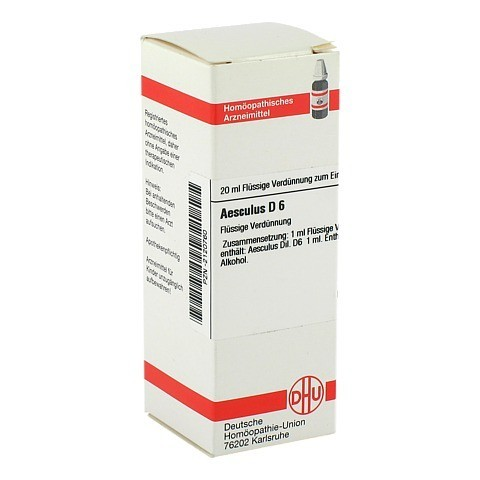 AESCULUS D 6 Dilution 20 Milliliter N1
