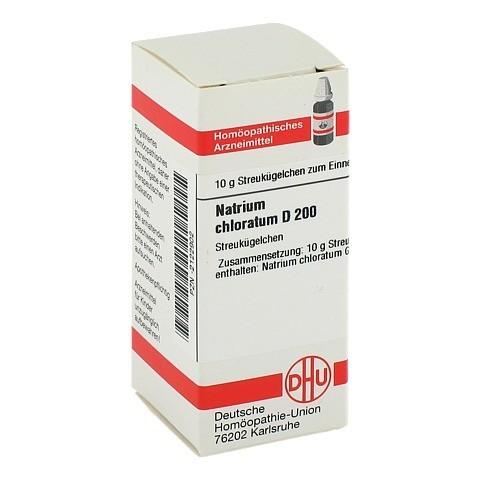 NATRIUM CHLORATUM D 200 Globuli 10 Gramm N1