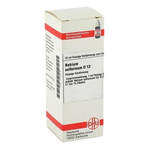 NATRIUM SULFURICUM D 12 Dilution 20 Milliliter N1