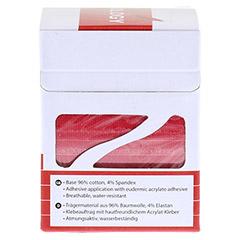 NASARA Kinesiologie Tape 5 cmx5 m rot 1 Stück - Linke Seite