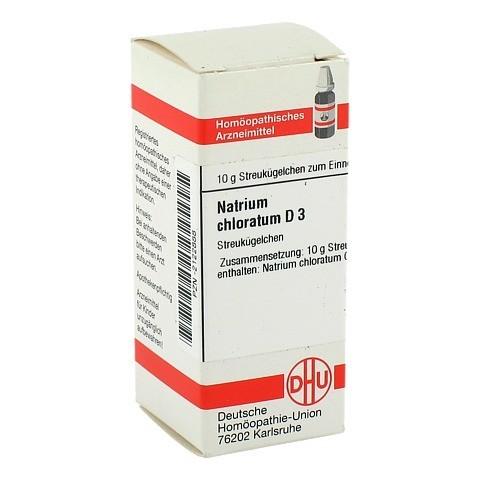 NATRIUM CHLORATUM D 3 Globuli 10 Gramm N1