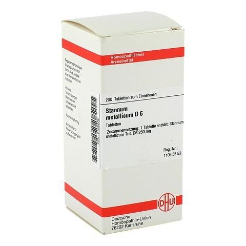 STANNUM METALLICUM D 6 Tabletten 200 Stück N2