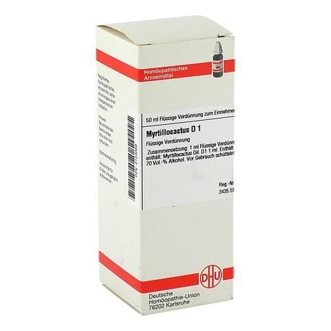 MYRTILLOCACTUS D 1 Dilution 50 Milliliter N1