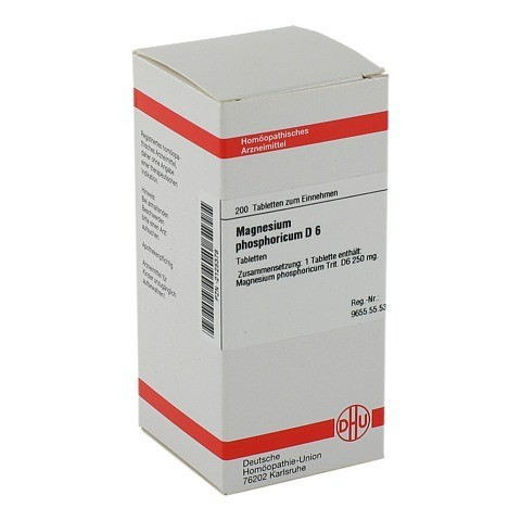 MAGNESIUM PHOSPHORICUM D 6 Tabletten 200 Stück N2