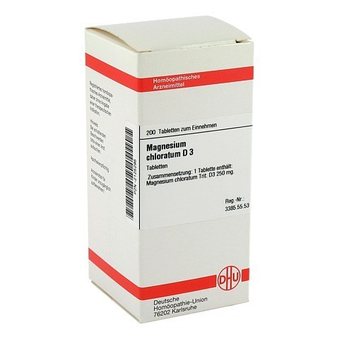 MAGNESIUM CHLORATUM D 3 Tabletten 200 Stück N2