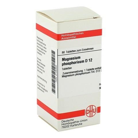 MAGNESIUM PHOSPHORICUM D 12 Tabletten 80 Stück N1