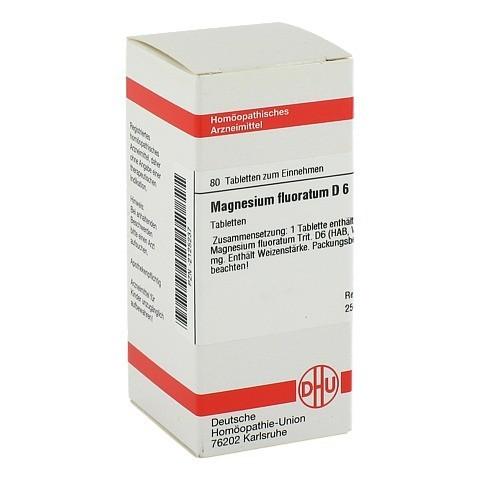 MAGNESIUM FLUORATUM D 6 Tabletten 80 Stück N1