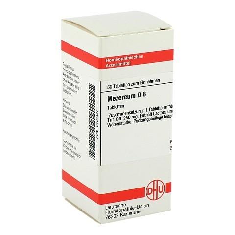 MEZEREUM D 6 Tabletten 80 Stück N1