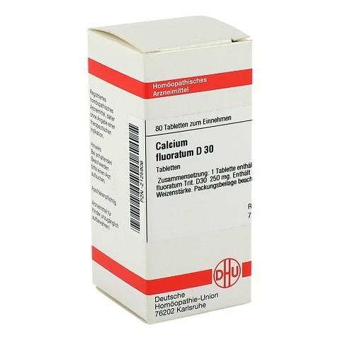 CALCIUM FLUORATUM D 30 Tabletten 80 Stück