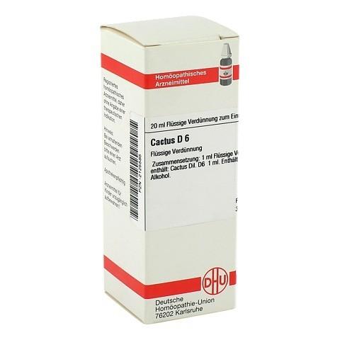 CACTUS D 6 Dilution 20 Milliliter N1