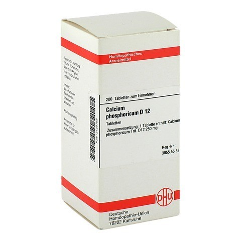 CALCIUM PHOSPHORICUM D 12 Tabletten 200 Stück N2