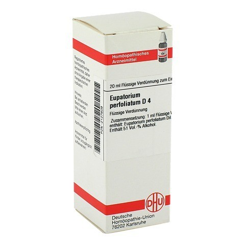 EUPATORIUM PERFOLIATUM D 4 Dilution 20 Milliliter N1