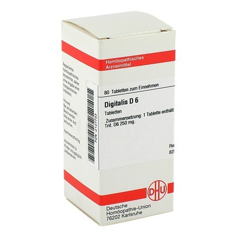 DIGITALIS D 6 Tabletten 80 Stück N1