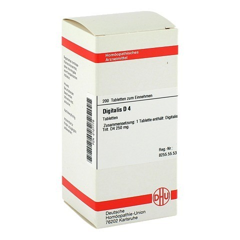 DIGITALIS D 4 Tabletten 200 Stück N2