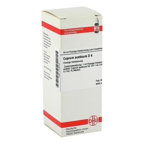 CUPRUM ACETICUM D 4 Dilution 50 Milliliter N1