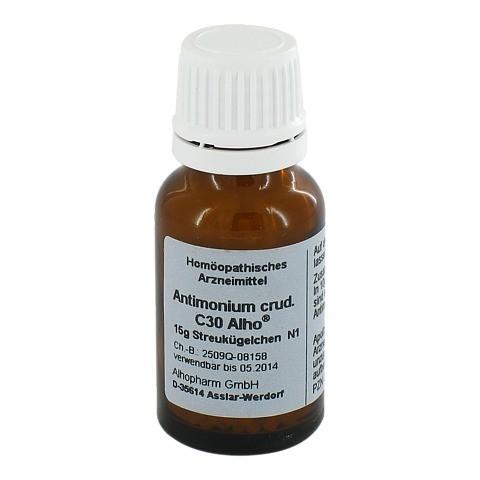 ANTIMONIUM CRUDUM C 30 Globuli 15 Gramm N1