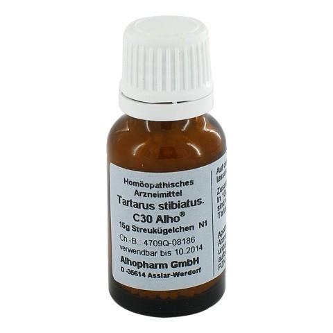 ANTIMONIUM TARTARICUM C 30 Globuli 15 Gramm N1