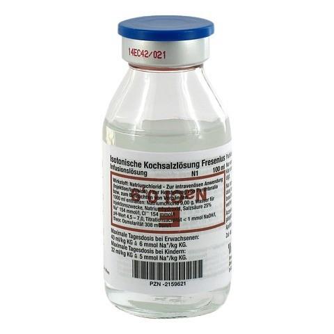 KOCHSALZLÖSUNG 0,9% Glasfl.Fresenius 100 Milliliter N1