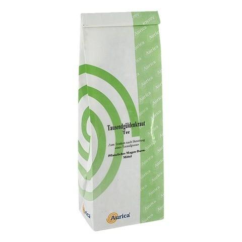 Tausendgüldenkraut Tee Aurica 100 Gramm