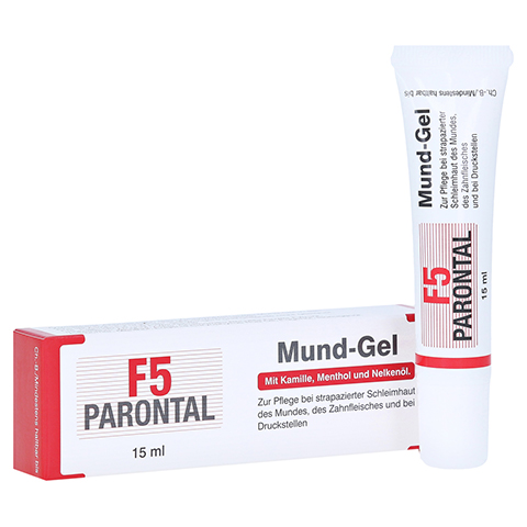 PARONTAL F5 Mundgel 15 Milliliter