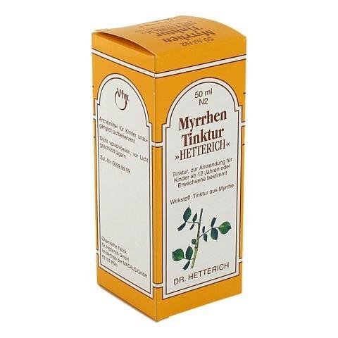 Myrrhentinktur Hetterich 50 Milliliter