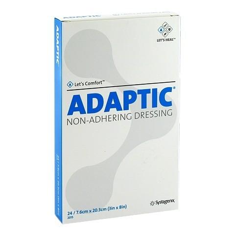 ADAPTIC 7,6x20,3 cm feuchte Wundauflage 2015DE 24 Stück