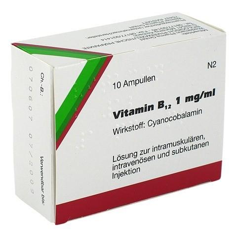 VITAMIN B12 WIEDEMANN Ampullen 10 Stück N2