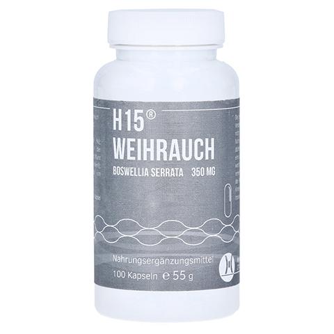 H 15 Weihrauchkapseln 350 mg 100 Stück