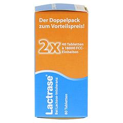 Lactrase 18.000 FCC Tabletten im Spender Doppelpack 2x40 Stück - Rechte Seite