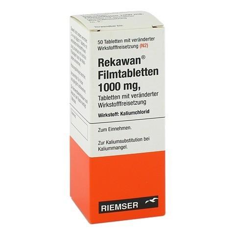 REKAWAN Filmtabletten 1000 mg 50 Stück N2