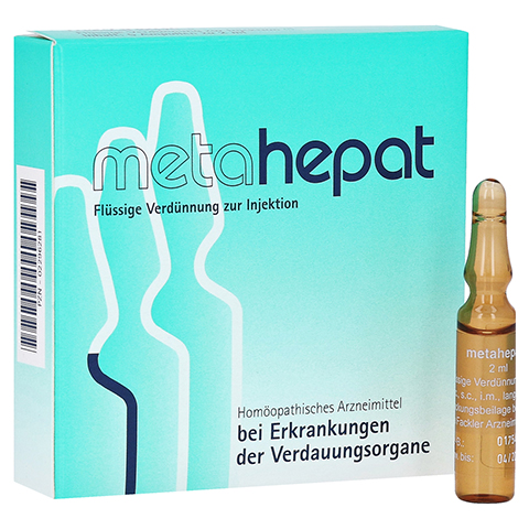 METAHEPAT Injektionslösung 5x2 Milliliter