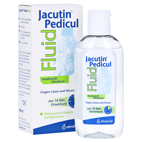 JACUTIN Pedicul Fluid 100 Milliliter
