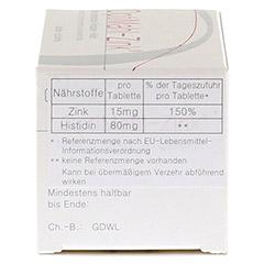 OPTIMAHL Zink 15 mg Tabletten 50 Stück - Rechte Seite